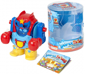 SUPER ZINGS SERIA 7 THINGS  POWER MACHINES POWER BOT + FIGURKA