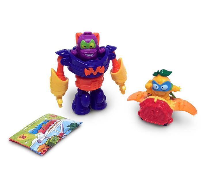 SUPER ZINGS SERIA 3 ROBOT SUPERBOT + SUPERSLIDER