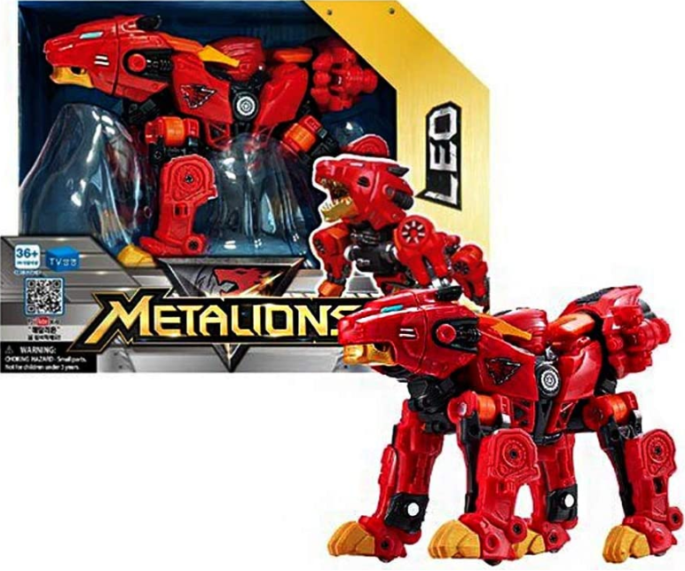 YOUNG TOYS METALIONS ROBOT TRANSFORMUJĄCY - LEO