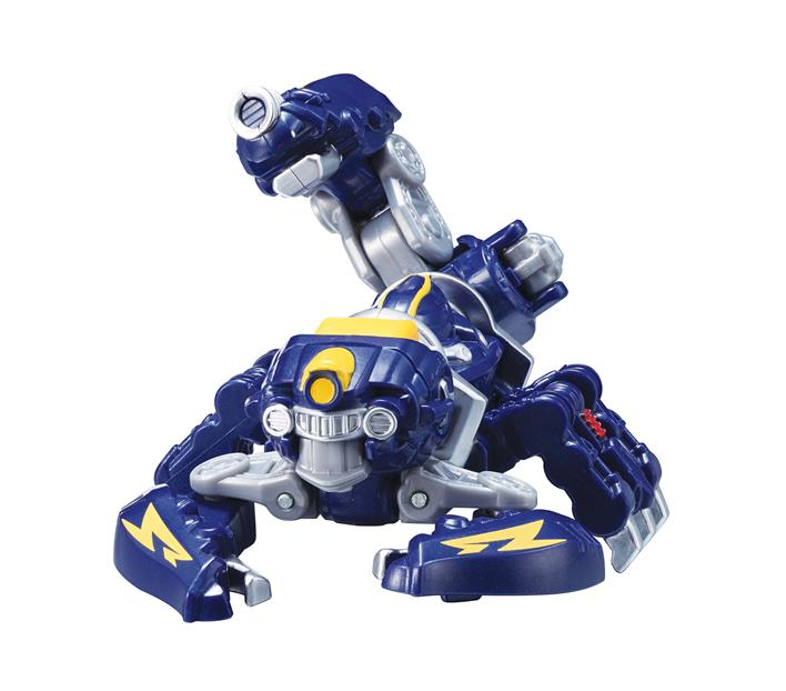 YOUNG TOYS METALIONS ROBOT TRANSFORMUJĄCY SCORPION